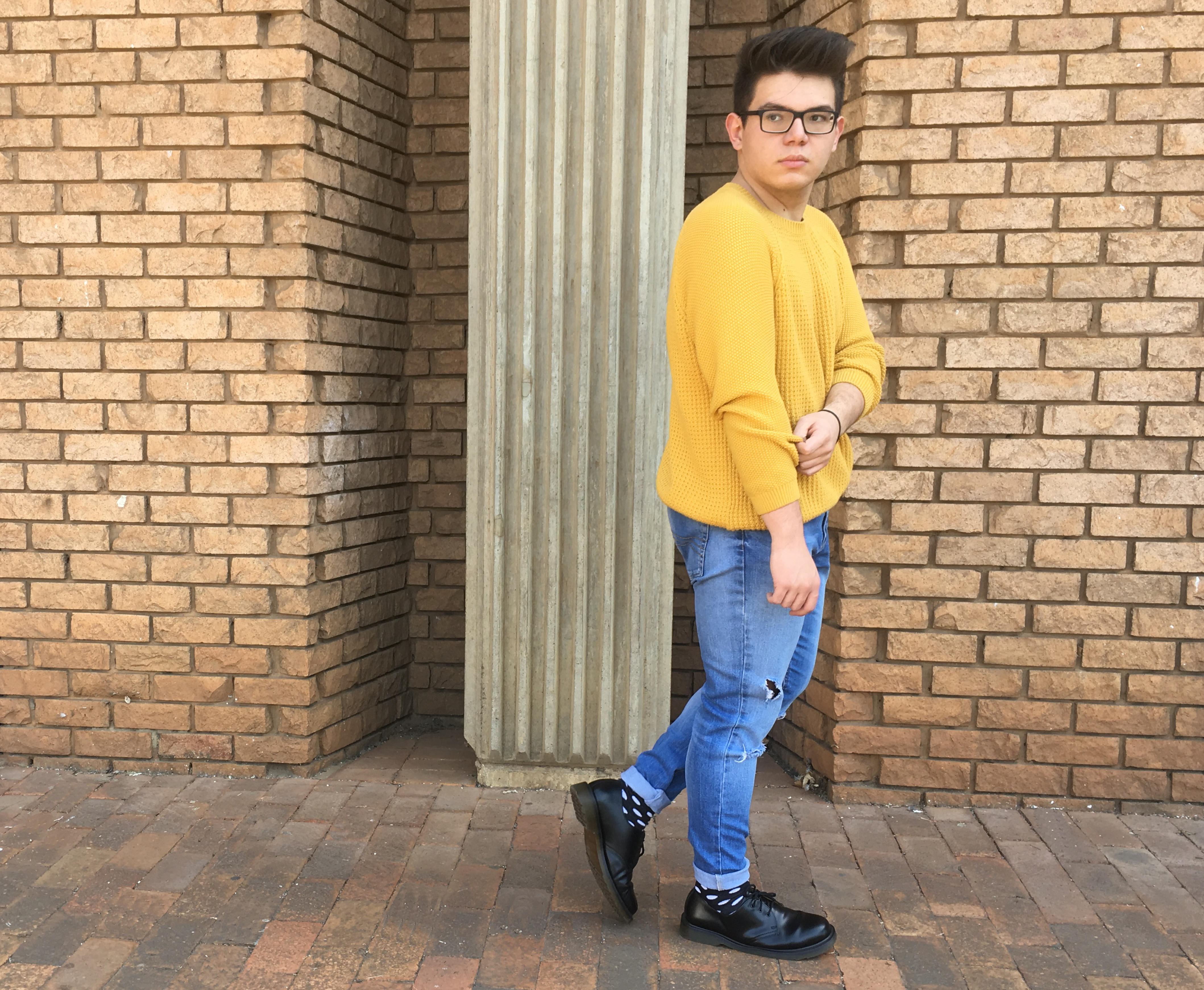 yellow jumper 4
