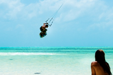 Kite-surfing - www.zanzibar.co.za